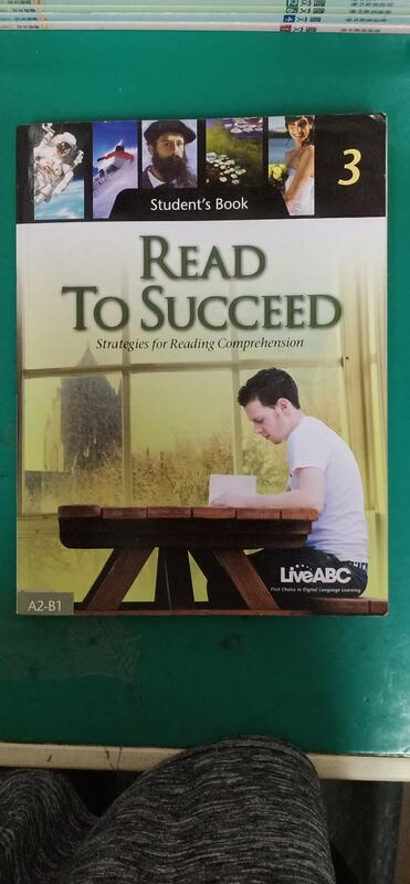 READ TO SUCCEED 3 Student's Book A2-B1 LiveABC 微劃記107K