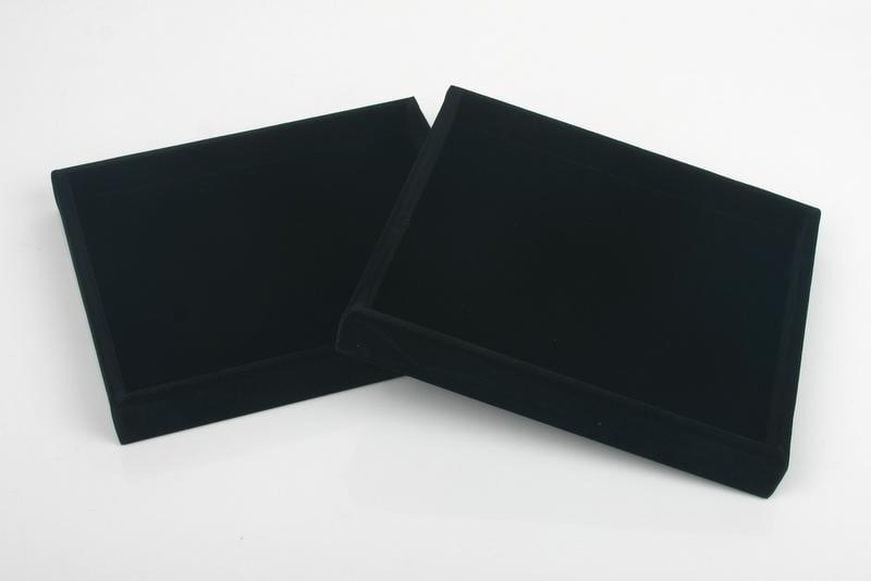 [歐克帕W0010]黑色長毛絨交易盤-大*挑鑽盤手機眼鏡黃金珠寶首飾飾品戒指項鍊胸針托盤展示盤