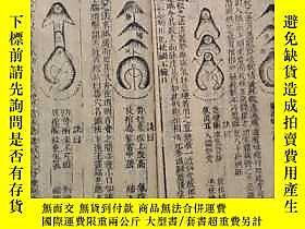 古文物明版,木刻大開本地理風水書.官板地理天機會罕見,卷六七八三卷合訂一厚本。露天227319 明版,木刻大開本地理風水