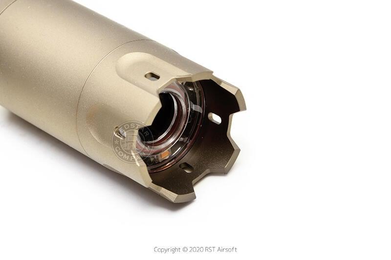 RST 紅星- ACETECH BLASTER 電子噴火豬發光器 台灣製造 模擬火藥閃光效果 沙色 ACE-PAT060