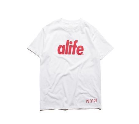 日系原單歐美潮牌 新款Alif百搭街頭高品質全棉短袖男女情侶款Tee