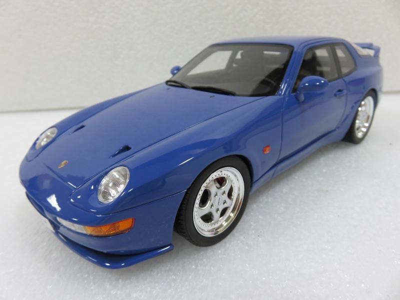 宗鑫貿易 GT SPIRIT GT201 Porsche 968 Turbo S 海藍色