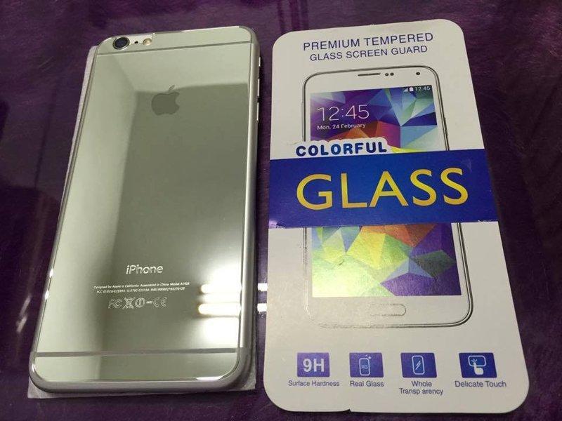 [龍龍3C] 滿版 電鍍 鋼化膜 玻璃貼 保護貼 9H Apple iPhone 5 iPhone 6 6S PLUS