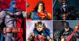【高雄冠軍】21年3月預購 麥法蘭 DC 黑暗之夜 死亡金屬 蝙蝠俠 超人 神力女超人 羅賓王 一組 含黑暗天父配件