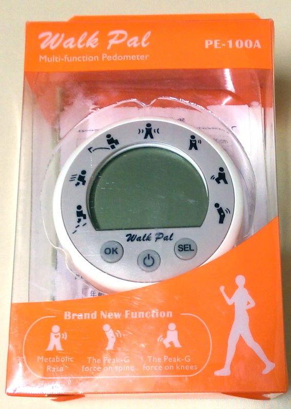 Walk Pal 超強多功能計步器  步數、速度、距離、卡路里、運動強度、膝蓋受力與脊椎受力 7種測量方式
