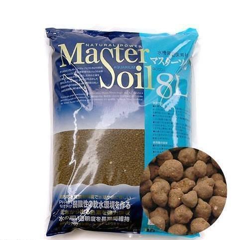 微笑的魚水族☆日本MASTER SOIL【咖啡色黑土 800g(約1L)散售/細粒】水晶蝦 養蝦種水草都OK!