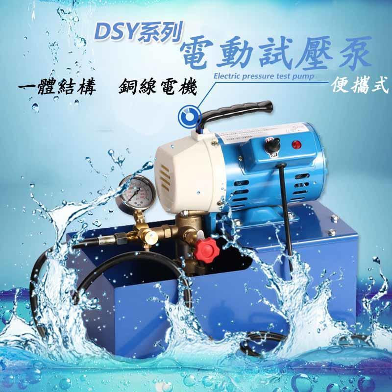 瘋狂買 台灣FUNET代理 DSY-60 試水壓機 居家冷熱水配管測試壓接管漏水 測試壓力0~60Bar 110V 特價