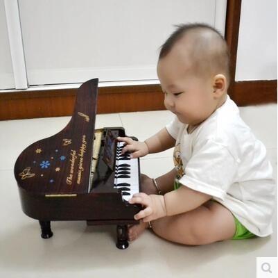 兒童早教初學樂器仿真可彈奏迷你玩具小鋼琴SJ138