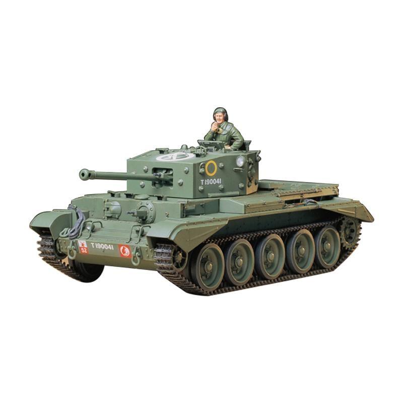 【汽車模型-免運】拼裝坦克模型1/35英國克倫威爾MK.IV型坦克TA35221美嘉模型