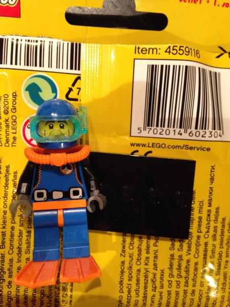 LEGO minifigures 8683 / 樂高第一代人偶 15號