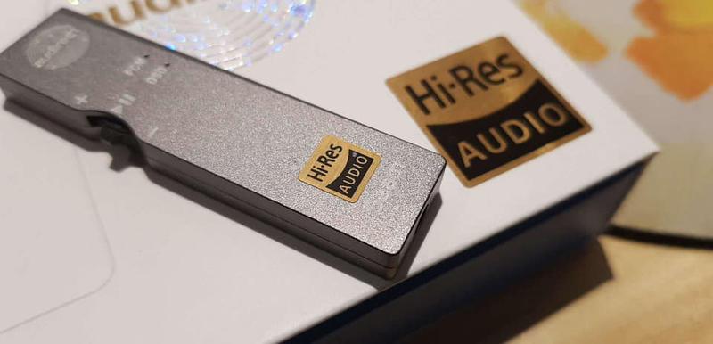 Hi-Res認證 Beam USB DAC PC/手機適用-可解DSD的隨身耳擴-ESS 9118晶片