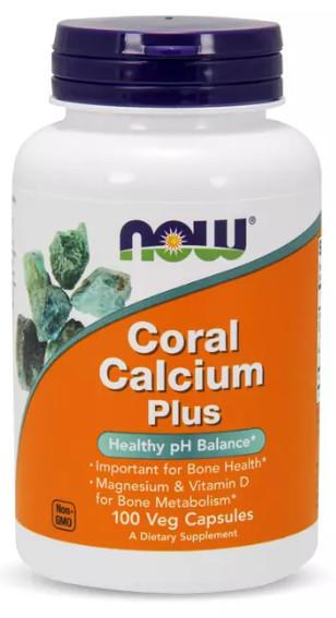 [預購] Now 珊瑚鈣 加強版 715毫克 100/250粒 Coral Calcium plus