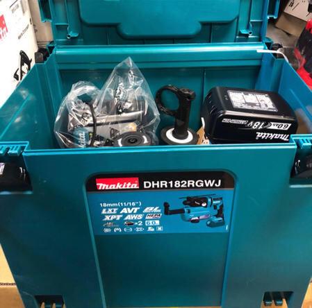 含稅 牧田 DHR182RGWJ DHR182 18V 雙6.0電池 18mm 鎚鑽 含集塵盒DX05