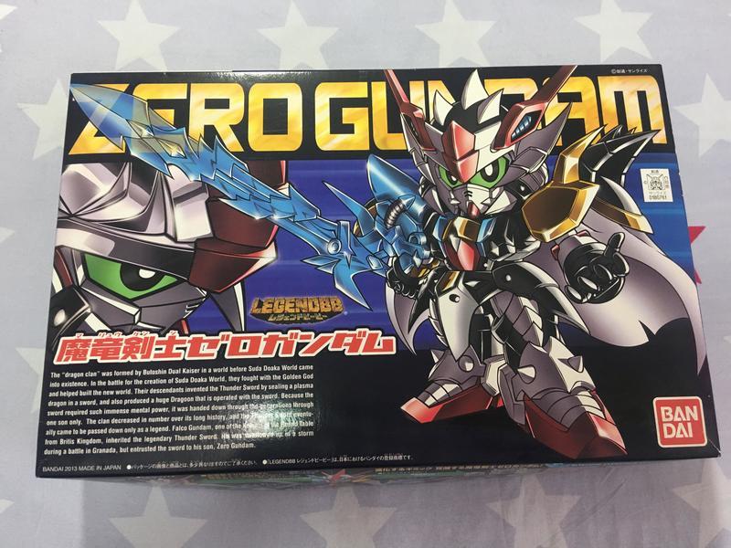 BANDAI BB戰士 378 ZERO GUNDAM 魔龍劍士