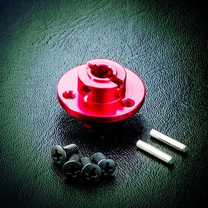 創億RC   MST CMX 鋁合金大齒盤座 - 紅 210230R MD03 MT04 MD05 MC18