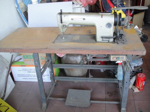 復古適合收藏二手日本三菱工業 平車 裁縫車 縫紉機 DB-322半自動加油功能