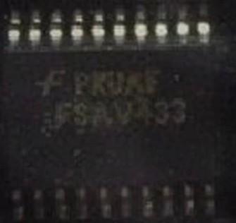 [二手拆機][含稅]晶片原裝 FSAV433MTCX FSAV433 貼片