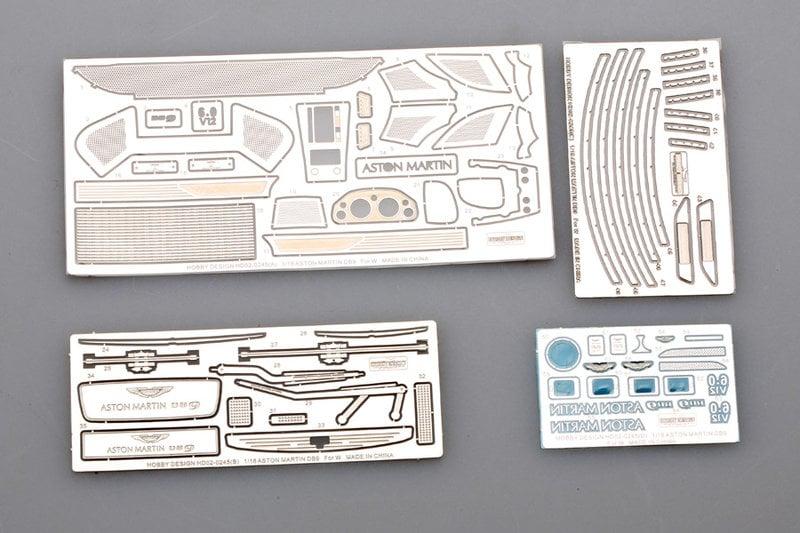 【傑作坊】Hobby Design HD02-0245 1/18 Aston Martin DB9 蝕刻改套
