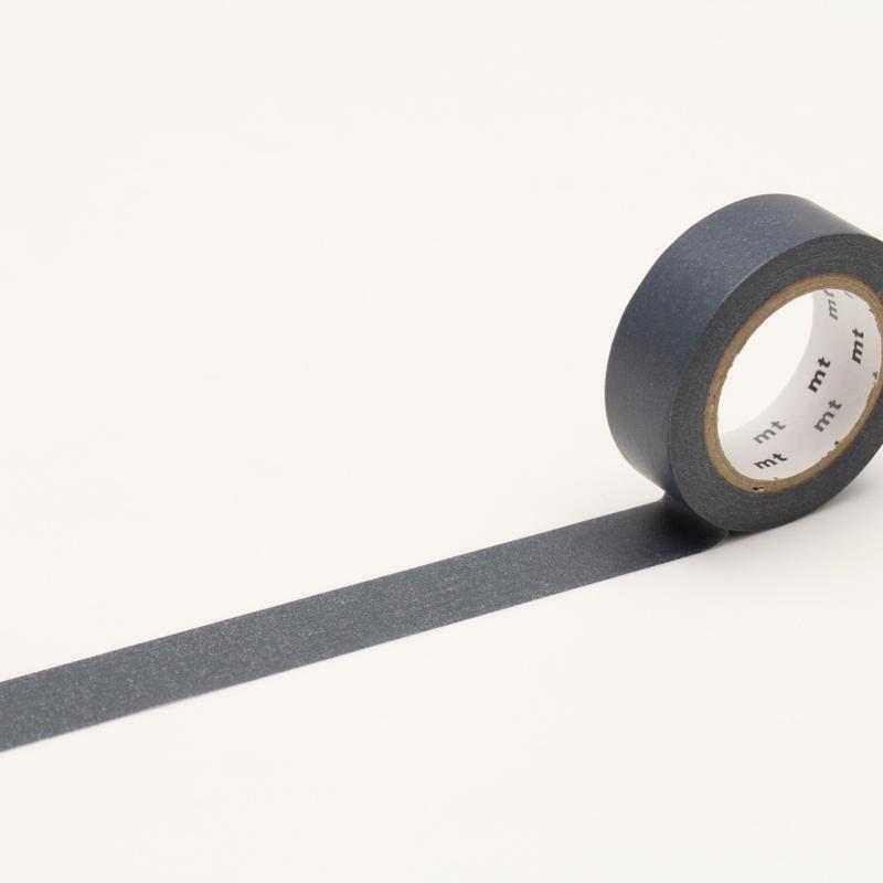【莫莫日貨】全新 日本原裝進口 mt 素色 系列 紙膠帶 和紙膠帶 - 青鈍 (整捲) MT01P199