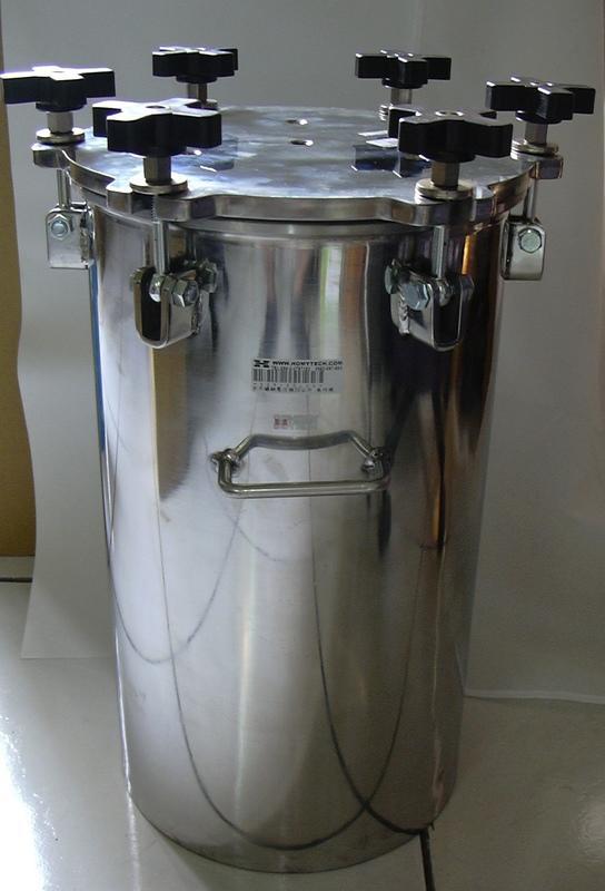 【泓明】20公升不鏽鋼壓力桶、供料桶,可搭配點膠機使用