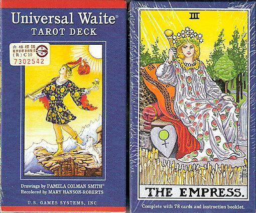 【塔羅世界】普及版偉特塔羅牌(附繁體中文冊)Universal waite tarot 正版