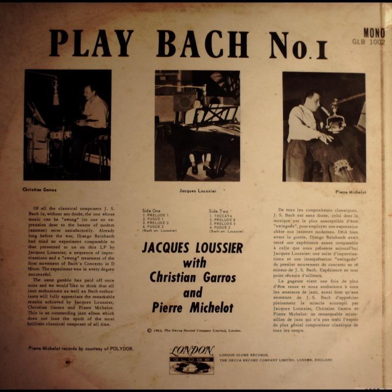 英版古典-London/GLB 1002/賈克路西耶彈奏巴哈:序曲(No. 1 2 5 8);觸技曲等