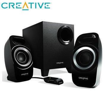 [富廉網]Creative Inspire T3300 2.1聲道喇叭 展示品出清