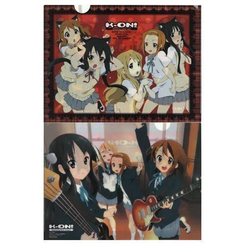 日本動漫雜誌<animage> 2009年 11 月號 附錄-k-on!! 輕音部-資料夾