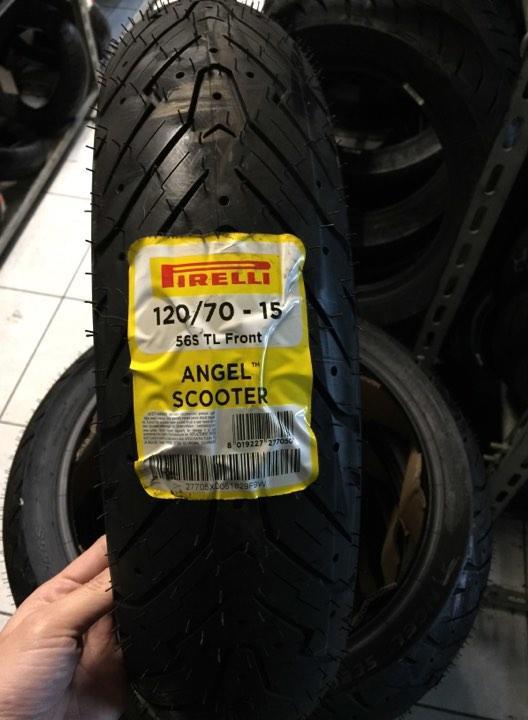 120/70-15 ANGELSCOOTER 倍耐力 天使胎 Pirelli 尼龍胎 非鋼絲胎