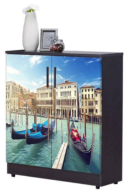 【TORO】尚恩2.7x3尺威尼斯河畔雙色鞋櫃  JF-295-1