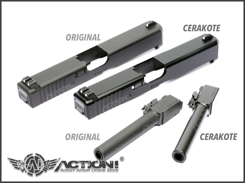 【ACTION! Custom】VFC/Umarex - G17 Gen.5瓦斯手槍 Cerakote特仕版《現貨》