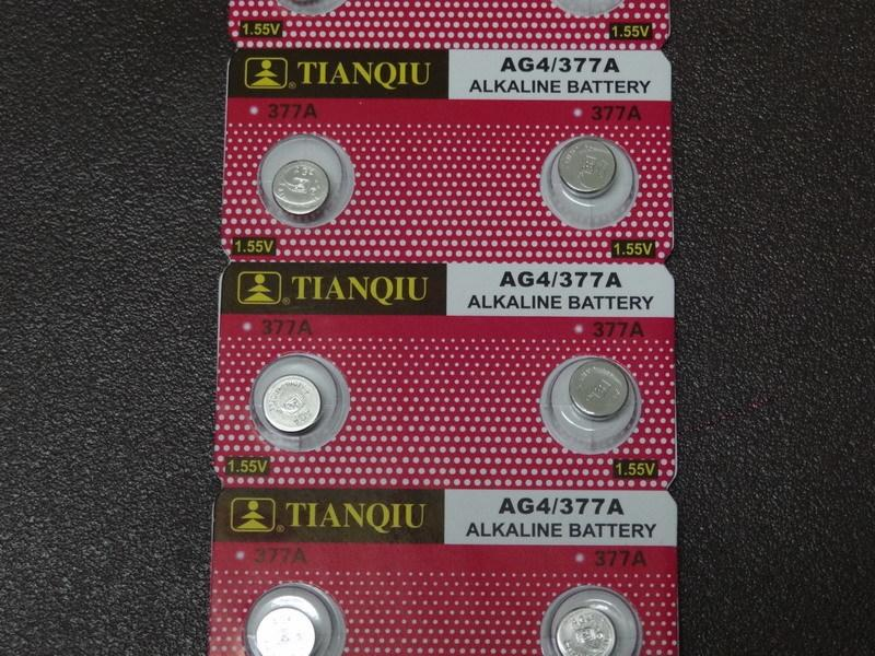 [yo-hong]天球金裝原廠鈕扣電池 AG4 LR626 LR66 377 SR626sw 1.5V 水銀電池