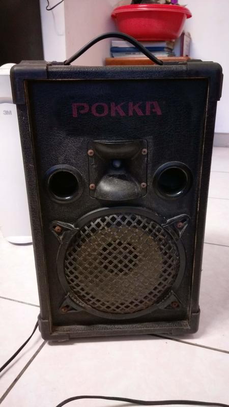 POKKA 手提有線擴音機/可播放卡帶~有線 ~叫賣專用~ 問題小故障