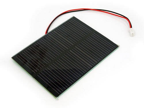 MakeHub.tw含稅原裝單晶矽太陽能電池板、太陽能板 5.5V 1W 80x100 mm2