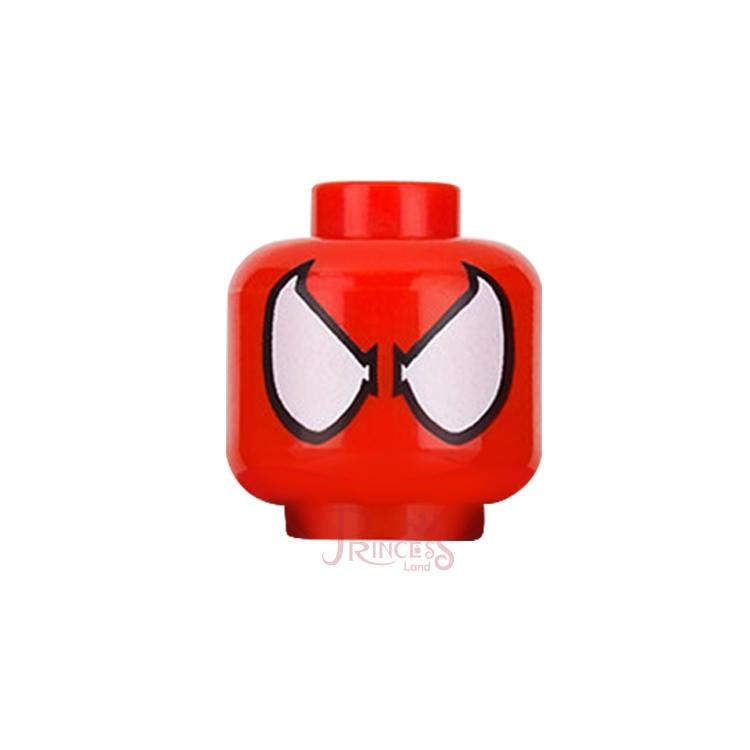 樂高王子 LEGO 76057 超級英雄 蜘蛛人 蜘蛛女 頭 紅色 3626cpb1634 (A204)