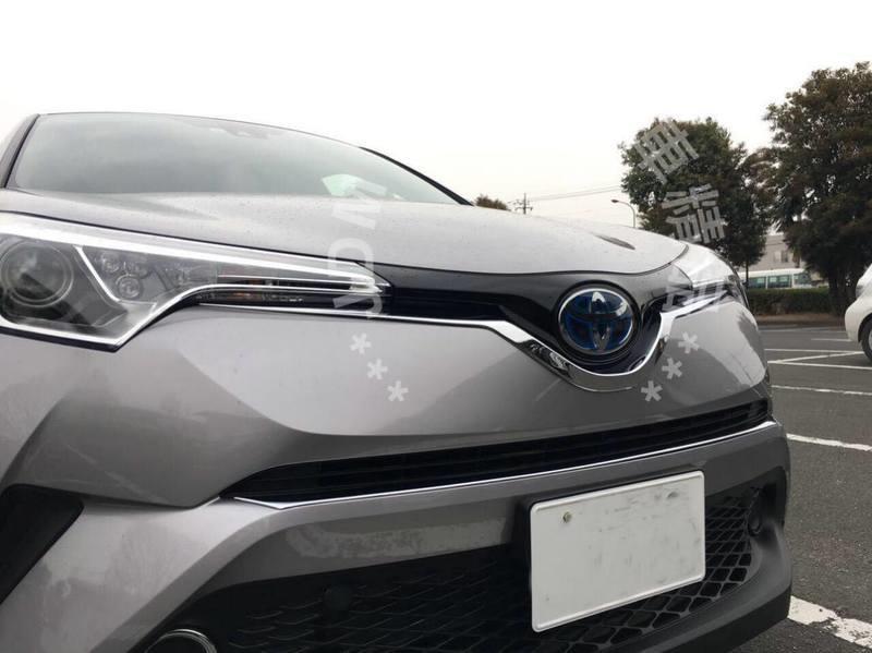 【花軍團】2017年 TOYOTA 豐田 C-HR 專用 水箱罩飾條 車頭飾條 中網飾條 ABS 電鍍