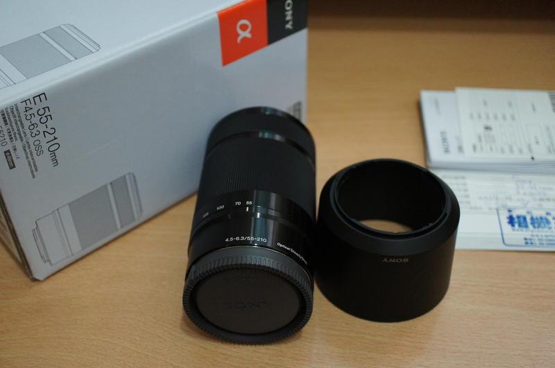 極新 Sony E接環 55-210mm F4.5-6.3 OSS 黑色 A6000 NEX SEL55210