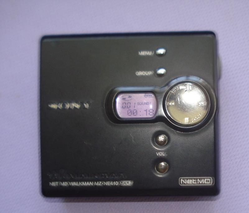 [特價!]   SONY Net MD MZ-NE410(用單3電池)