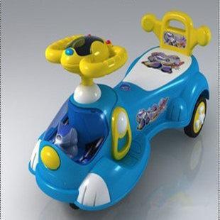 大號機械狗兒童扭扭車搖擺車 滑行車 帶音樂閃