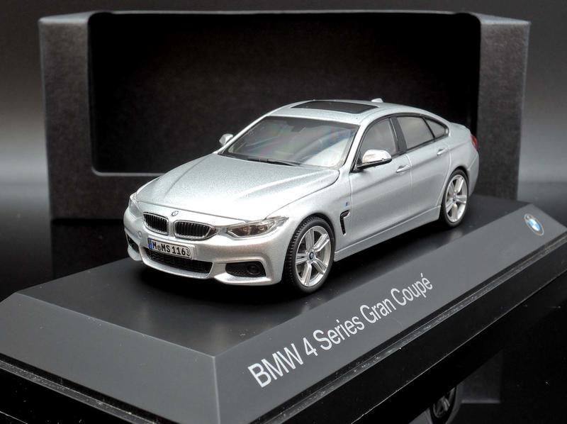 【M.A.S.H】[現貨瘋狂價] 原廠 Kyosho 1/43 BMW 4er 4 Series F36 silver