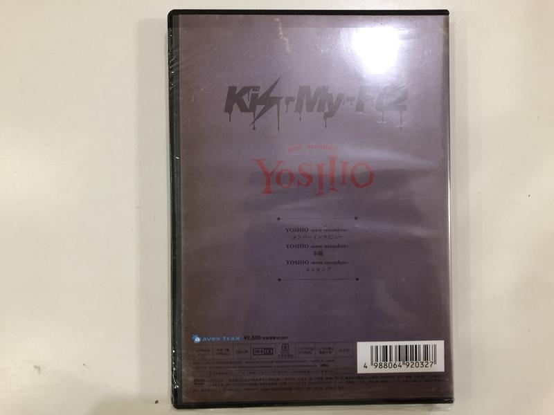 Kis-My-Ft2 2013年 YOSHIO -新成員- 日盤 DVD 微電影 通常盤 周邊 現貨 T17567