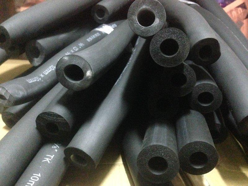 防燄耐高溫不粉化保溫管一條長180公分 保溫板 泡棉管隔音板保冷泡棉隔音隔熱鐵管銅管水管包覆尺寸眾多