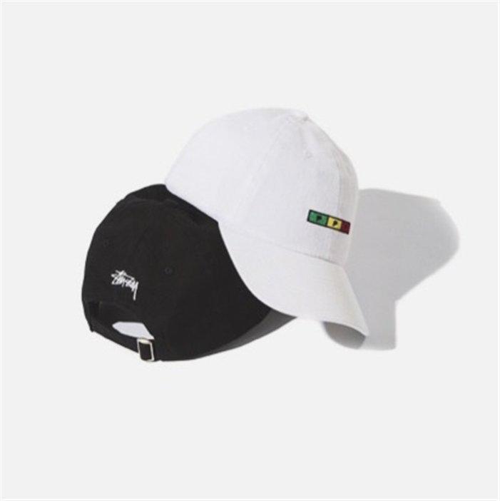 Stussy港風棒球帽高爾夫球鴨舌帽複古SNAPBACK彎檐帽情侶男女帽子