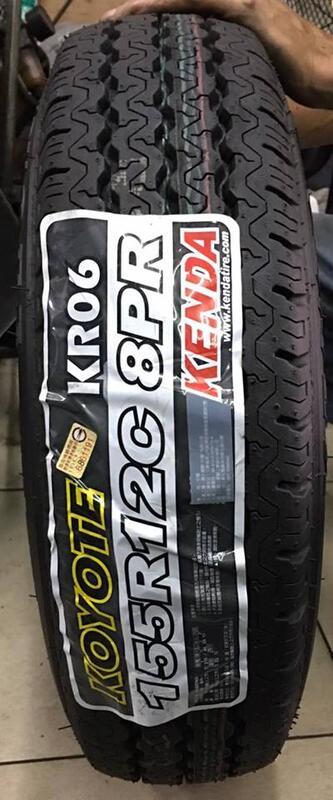 【優質輪胎】建大KR06全新貨車胎_155R12C_(百利 威利 發財車 南港 飛達 小貨車)三重區