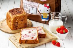《嵜本.SAKImoto Bakery.》X Hello Kitty.,極莓果生吐司.