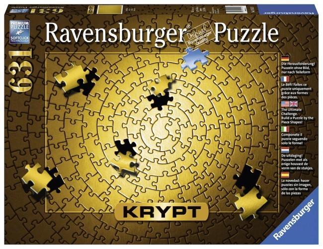 ~☆米琪小舖☆~ (現貨) 歐美進口【Ravensburger】品牌 Krypt Gold 金色地獄大挑戰 拼圖631片