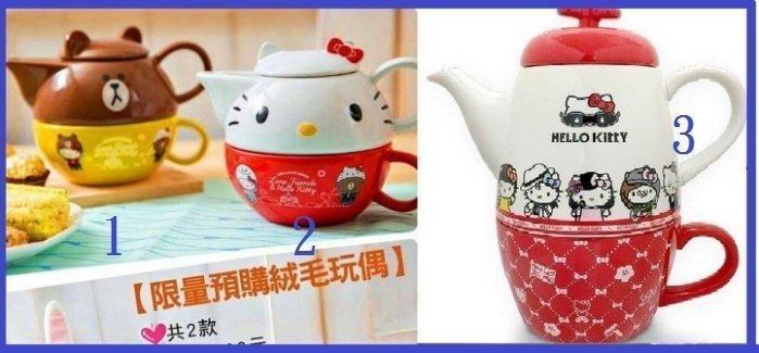 7-11 Hello Kitty X LINE 【下午茶壺組】-3號