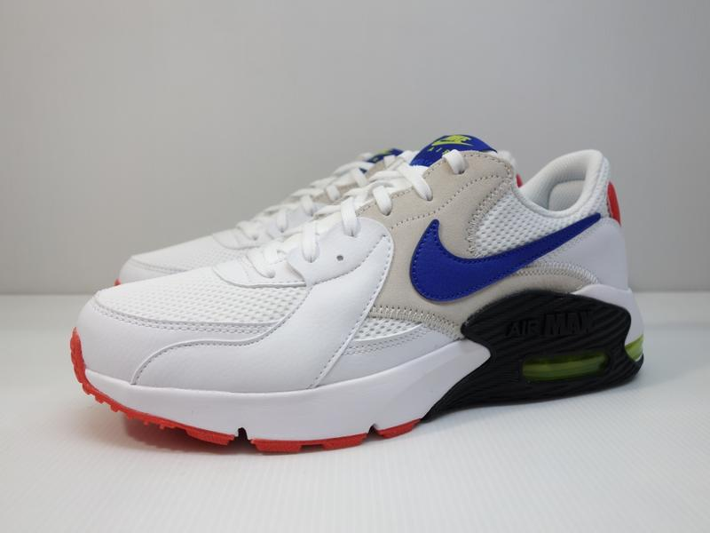 =小綿羊= NIKE AIR MAX EXCEE 白藍紅 CD4165 101 男生 休閒鞋 氣墊 經典款