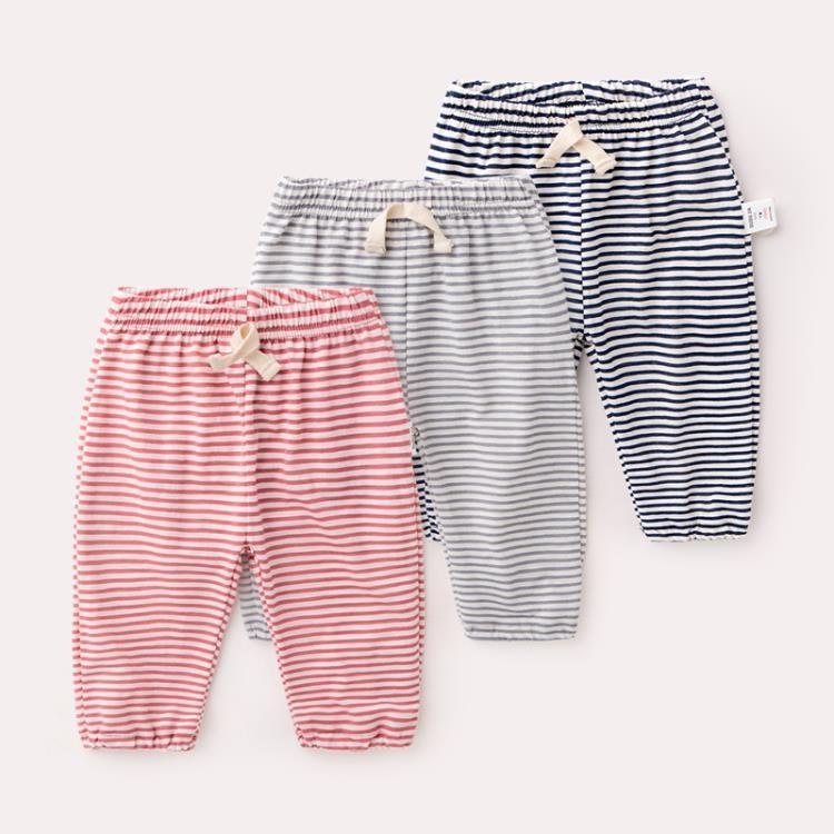 新生兒薄款褲子夏季女童防蚊褲寶-一級棒-可開發票Al