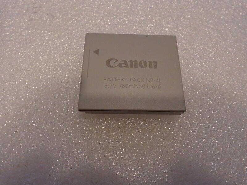 Canon NB-4L 相機專用原廠電池 【二手良品】